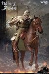 WWII Japanese Imperial Army Cavalry Horse & Saddle Set (Brown)<BR>PRE-ORDER: ETA Q3 2021