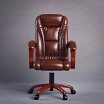Boss Office Chair (Brown)<BR>BACK ORDER