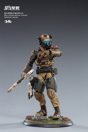 Sergeant Major of the 9th Army Mecha Cavalry (1:18 Scale)<BR>PREORDER: ETA Q1 2021