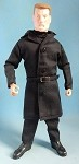Men's Trench Coat (Black)