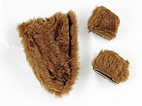 Brown Fur Set
