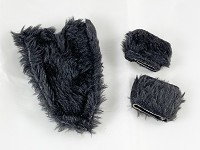 Black Fur Set