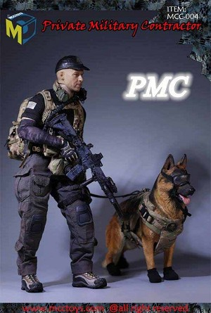 Private Military Contractor Uniform Set (with Dog)