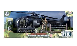 World Peacekeepers: Combat Helicopter (1:18 Scale)<BR>PRE-ORDER: ETA Q2 2021