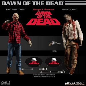 One: 12 Collective: Dawn of the Dead 2 Figure Set<BR>(1:12 Scale)