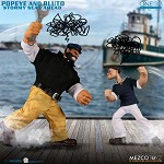 One:12 Collective - Popeye & Bluto (Stormy Seas Ahead) Deluxe  Set (1:12 Scale)<BR>PRE-ORDER: ETA Oct. 2020