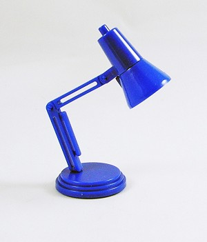 Desk Lamp (Blue)