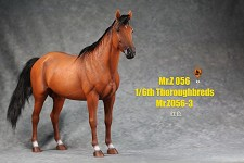 Thoroughbred Horse (Chestnut)<BR>PRE-ORDER: ETA Q2 2021