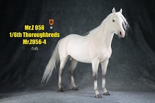 Thoroughbred Horse (White)<BR>PRE-ORDER: ETA Q2 2021