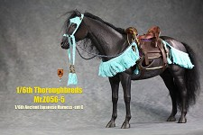 Ancient Japanese Harness/Saddle Set (Blue)<BR>PRE-ORDER: ETA Q2 2021