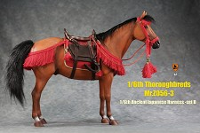 Ancient Japanese Harness/Saddle Set (Red)<BR>PRE-ORDER: ETA Q2 2021