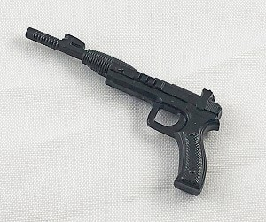 Silenced Laser Pistol (Black)