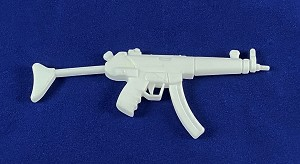 MP5A3 Sub-Machine Gun (White)