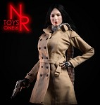 Trench Coat Outfit Set