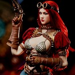 Steam Punk Red Sonja (Classic Version)