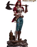Steam Punk Red Sonja (Deluxe Version)<BR>PRE-ORDER: ETA Q4 2019