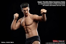 1:12 Scale Flexible Male Seamless Figure (Athletic)