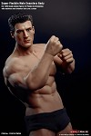 1:12 Scale Flexible Male Seamless Figure (Muscular)