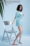 Female Petite Seamless Figure (Pale/Small Bust)<BR>PRE-ORDER: ETA LATE Q2 2021