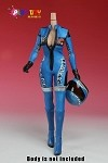 Racing Girl Uniform Set<BR>(Blue)<BR>