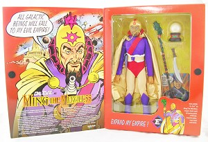Dr. Evil as Ming the Merciless