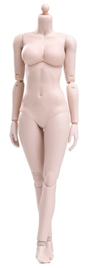 Super Flexible Female Body<BR>Pale - Large Bust