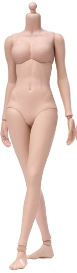 Super Flexible Seamless Female Body<BR>Tan - Mid Bust