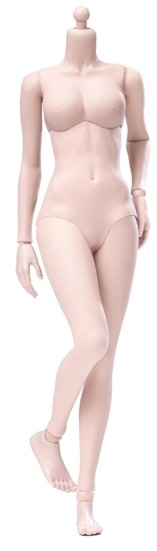 Super Flexible Seamless Female Body<BR>Pale- Mid Bust