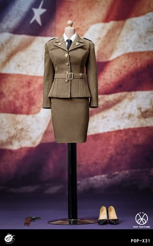 WWII US Army Female Agent Uniform Set