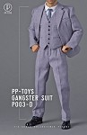 1920s Gangster Outfit Set (Light Grey)<BR>PRE-ORDER: ETA Q4 2020