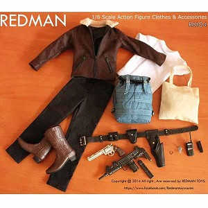 Sheriff Uniform Set<BR>(Leather Jacket Version)<BR>
