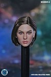 Jill Female Head Sculpt (Short Brunette Hair)<BR>PRE-ORDER: ETA Q3 2021