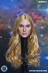 Jill Female Head Sculpt (Long Blonde Hair)<BR>PRE-ORDER: ETA Q3 2021