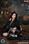 Fantasy Fighting Outfit & Head Sculpt Set (Kimono Version)<BR>PRE-ORDER: ETA Q1 2021