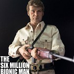 The Six Million Bionic Man (Hunter Outfit Version)<BR>PRE-ORDER: ETA Q1 2020