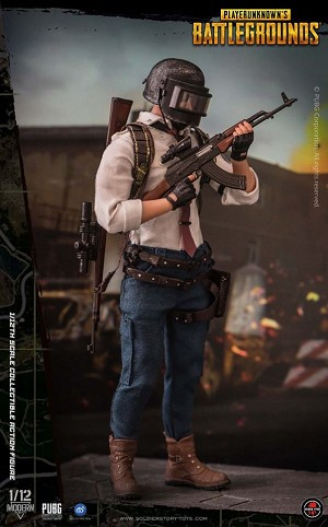 PlayerUnknown's Battlegrounds Series: 'Dress Tie' (1:12 Scale)<BR>PRE-ORDER: ETA Q4 2020
