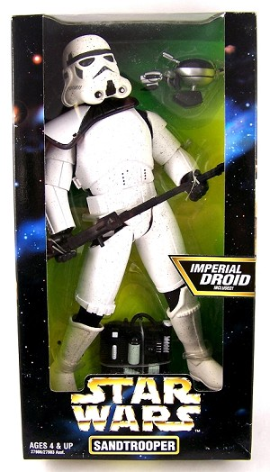 Star Wars: Sandtrooper with Imperial Droid