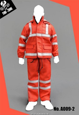 Utility Uniform Set (Red/Orange)