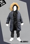 Parka Outfit (Navy Blue)