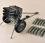 Type 63 107mm Rocket Launcher 1:6 Scale Model Kit