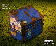 Dumpster–Blue (1:12 Scale)<BR>