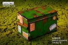 Dumpster – Green (1:12 Scale)<BR>