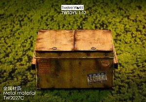 Dumpster – Yellow (1:12 Scale)<BR>