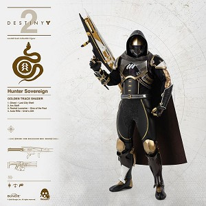 Hunter Sovereign (Golden Trace Shader)<BR>PRE-ORDER: ETA Q1 2021