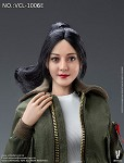 Ling Female Head Sculpt (Pony Tail Hair)<BR>PRE-ORDER: ETA APR 2021