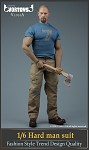 Tough Guy Outfit Set (Blue T-Shirt)<BR>PRE-ORDER: ETA Q1 2021