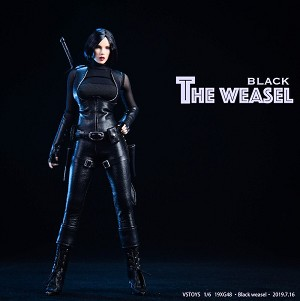 Black Weasel Outfit & Head Sculpt Set<BR>PRE-ORDER: ETA Q4 2019