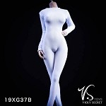 Female Bodysuit with Sleeves (White)