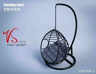 Swing Chair (1:12 Scale) - Gray<BR>PRE-ORDER: ETA Q3 2021