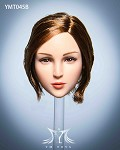 Maple Female Head Sculpt (Short Blonde Hair)<BR>PRE-ORDER: ETA Q4 2020